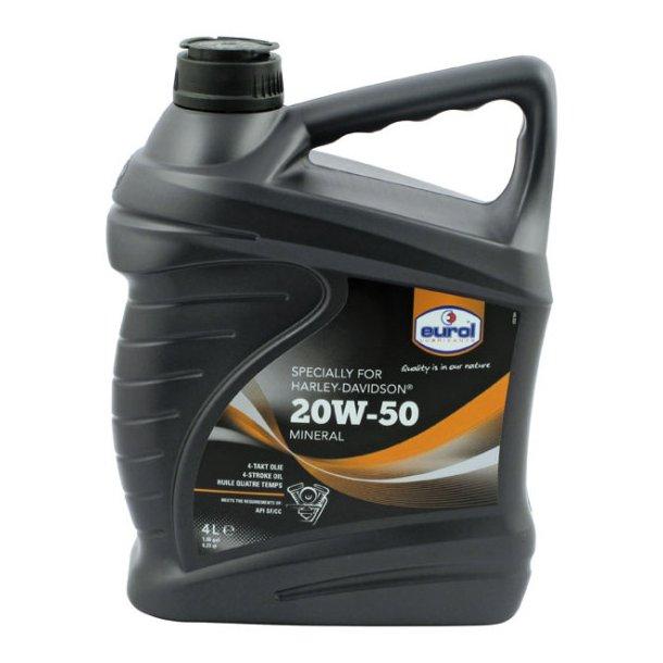 Eurol HD 20W-50 MC olie - 4 L