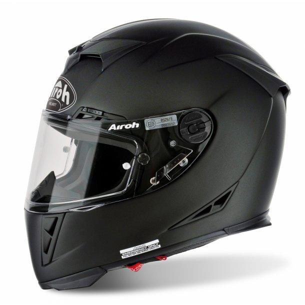 Airoh MC Hjelm GP 500 - Carbon - Mat Sort