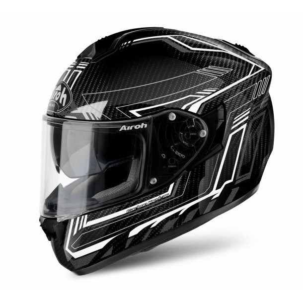 Airoh MC Hjelm ST701 - SAFETY - Full Carbon