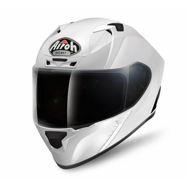 Airoh MC hjelm Valor - Hvid Blank