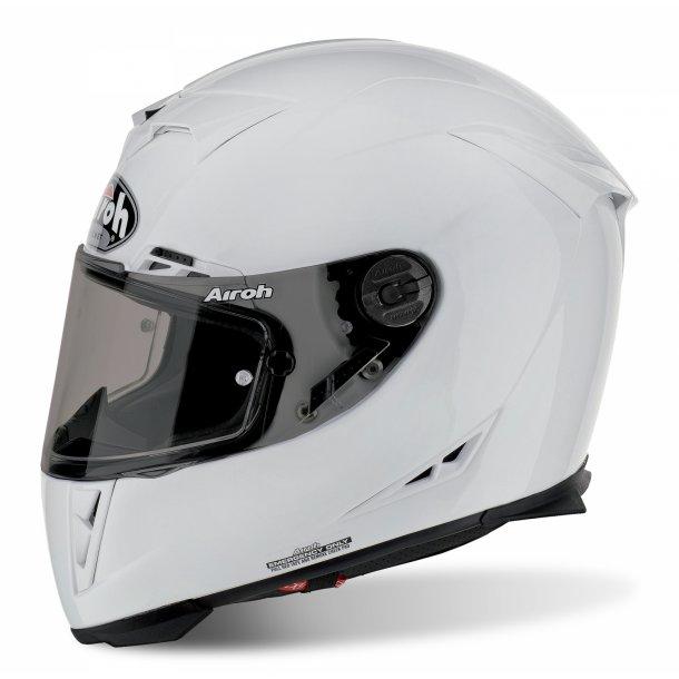 Airoh MC Hjelm GP 500 - Carbon - Blank Hvid