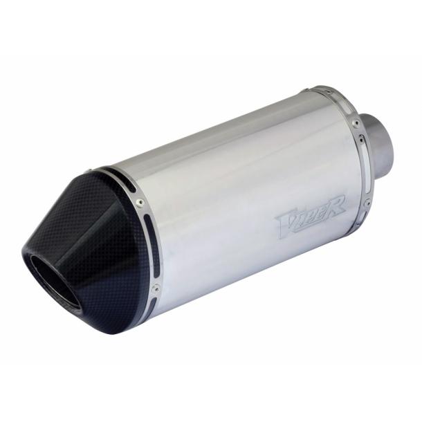 Viper Alu MC Udstødning - Micro (20cm) - Carbon end cap