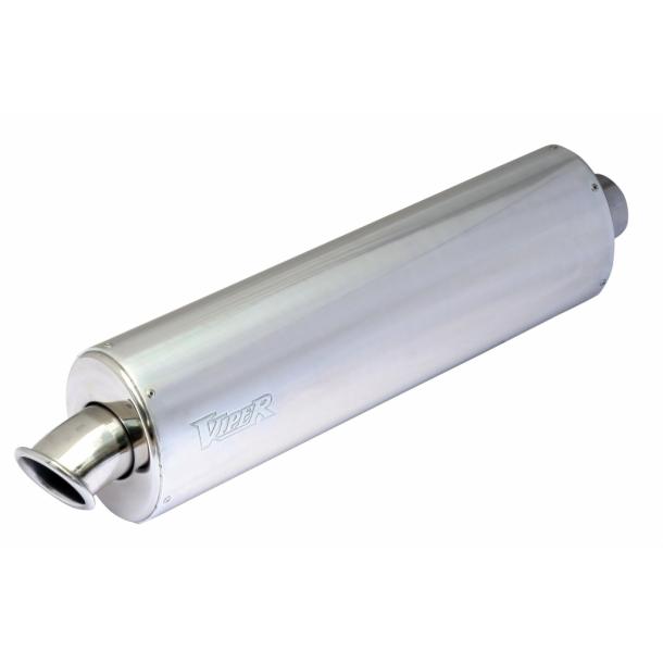 Viper Alu MC Udstødning - Oval - 3-bolt montering