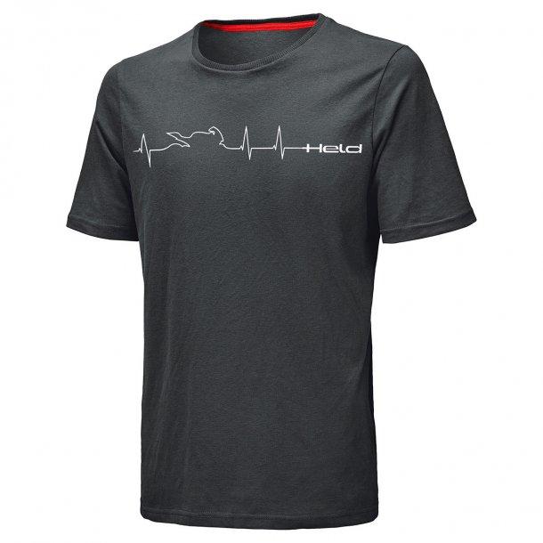Held T-Shirt Be Heroic