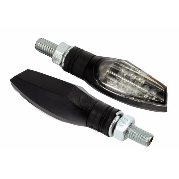 LED shard blinklys