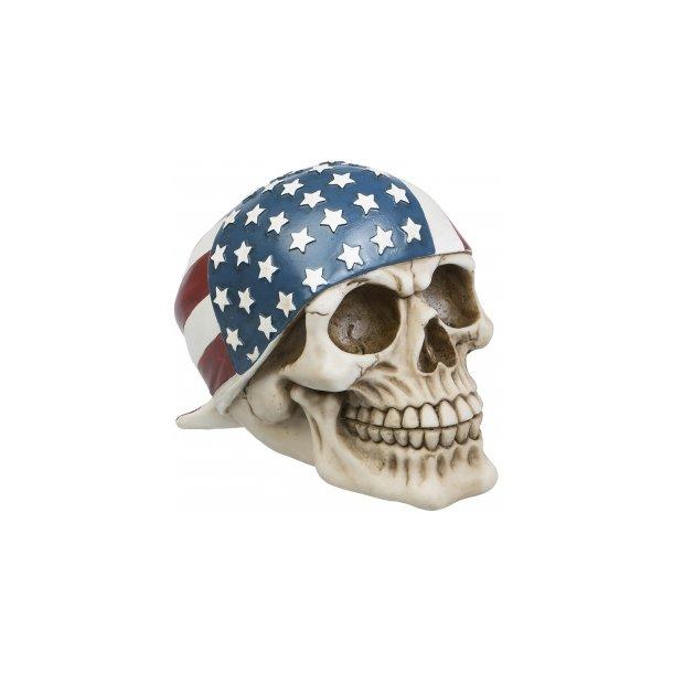 Kranie med America Cap
