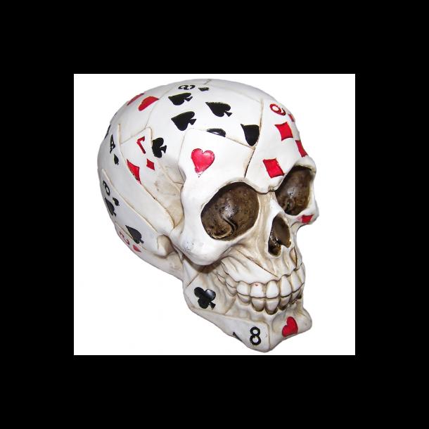 Kranie med Poker