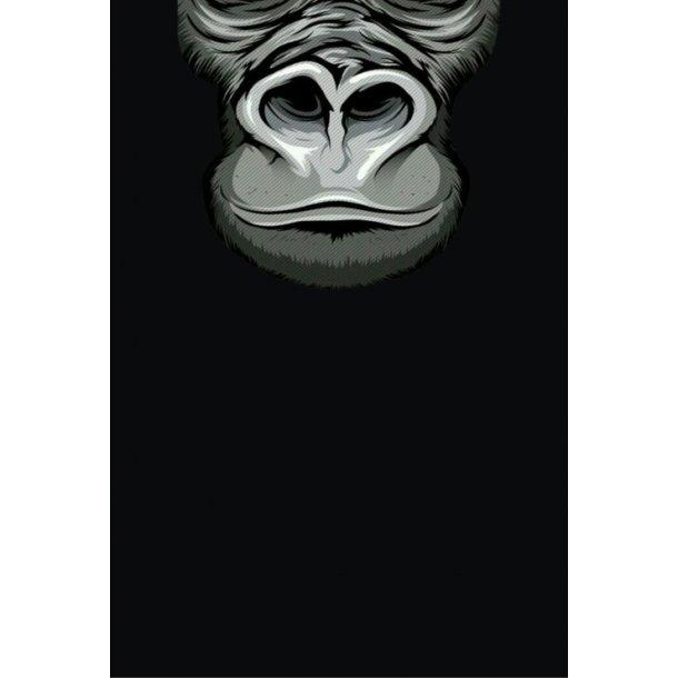 MC Ansigtsmaske med Silikonepad på Næsen - Monkey 3