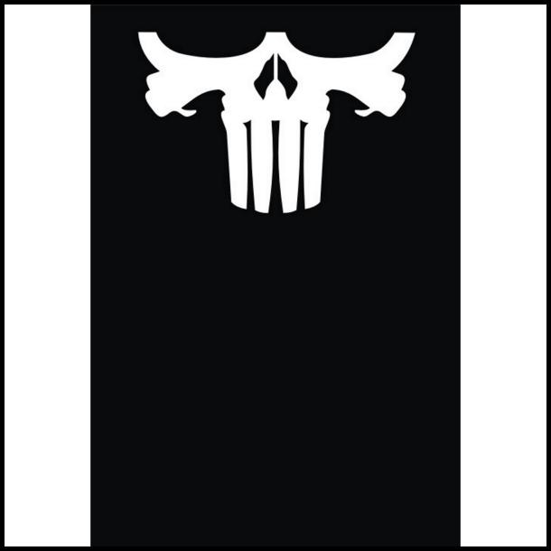 MC Ansigtsmaske med Silikonepad påNæsen - Punish