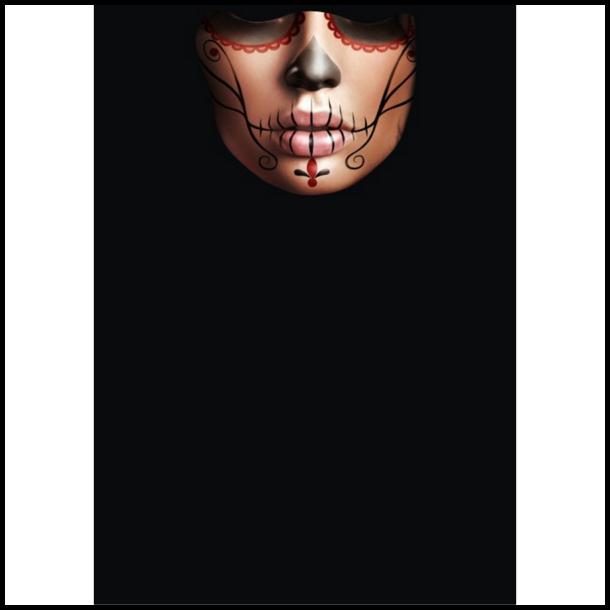 MC Ansigtsmaske med Silikonepad på Næsen - Stitch 2