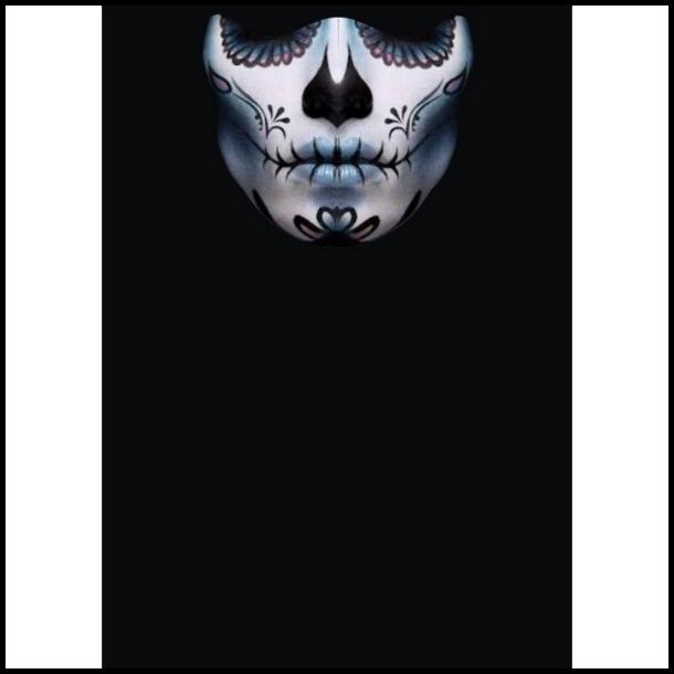 MC Ansigtsmaske med Silikonepad på Næsen - Stitch 1