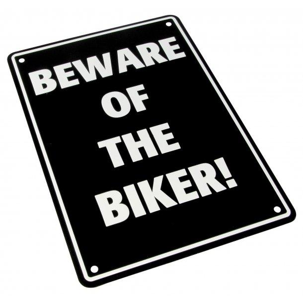MC Parkerings Skilt - Beware of Biker