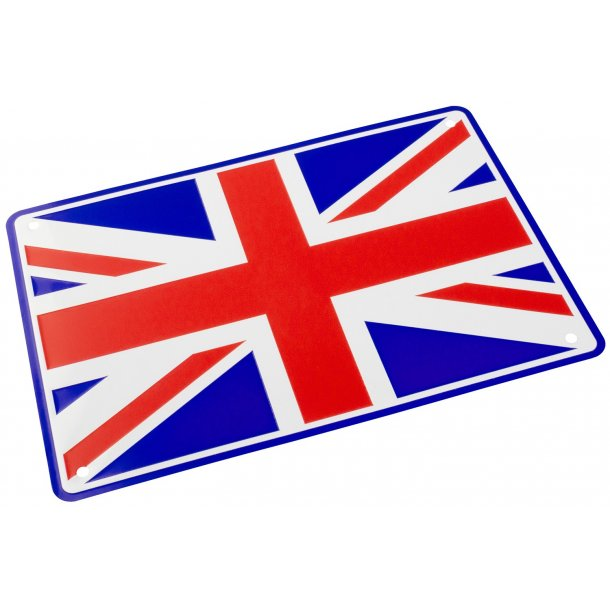 MC Parkerings Skilt - Union Jack