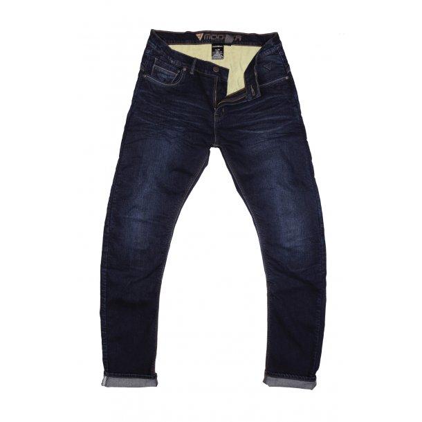 Modeka Glenn MC Jeans med Kevlar - 2 Benlængder - Mørkeblå