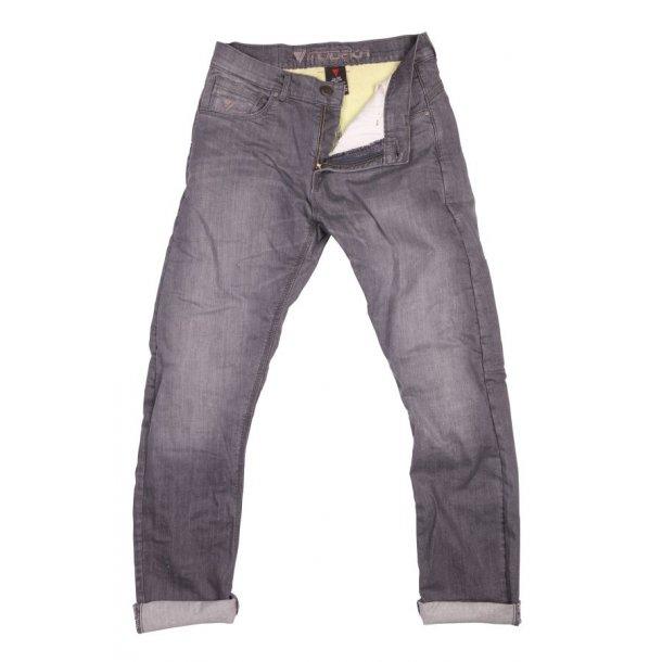 Modeka Glenn MC Jeans med Kevlar - 2 Benlængder - Grå