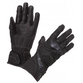 pornostjerne rør sort læder handsker dame