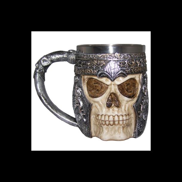 Ølkrus med Kranie - Viking