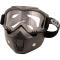 PiWearMC Motorbrille / Maske INVASE KitKlar/Smoke