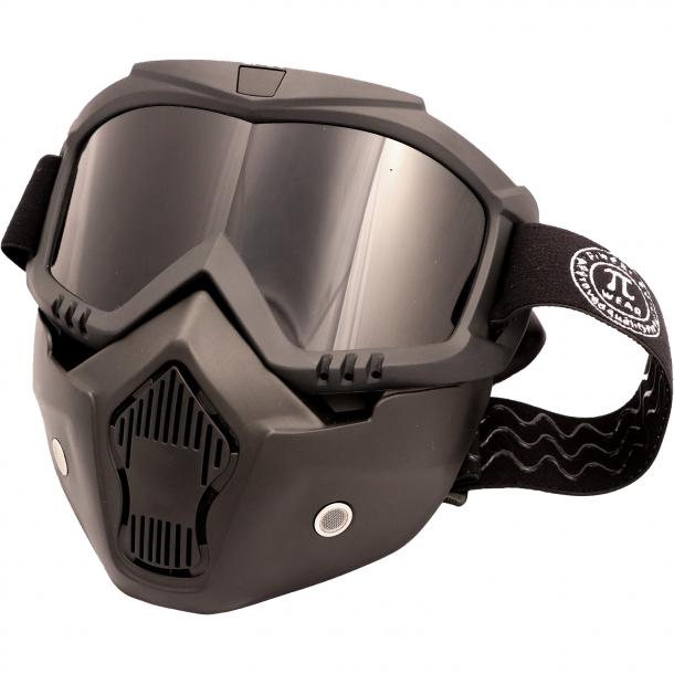 PiWearMC Motorbrille / Maske INVASE Smoked