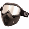 PiWear MC Motorbrille /Maske INVASE Kit Spejl og Smoke