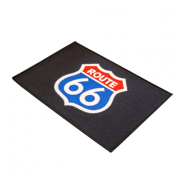 Route 66 MC Dørmåtte 90 x 60