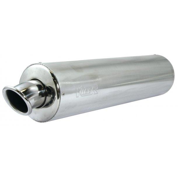 Viper Rund MC aluminiums Udstødning - ikke E-godkendt