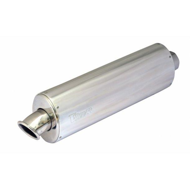 Viper Alu MC Udstødning - Oval - Micro (20cm)