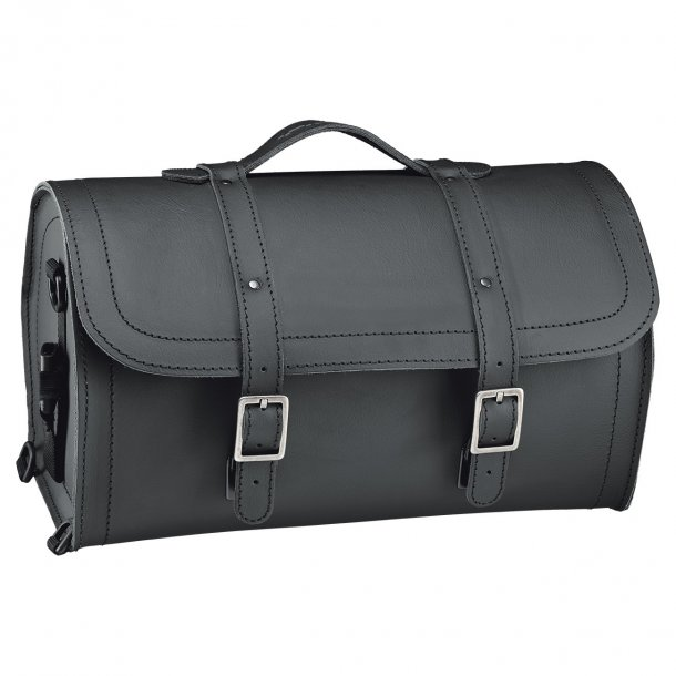 Held Cruiser Barrel Bag MC Læder Rulletaske