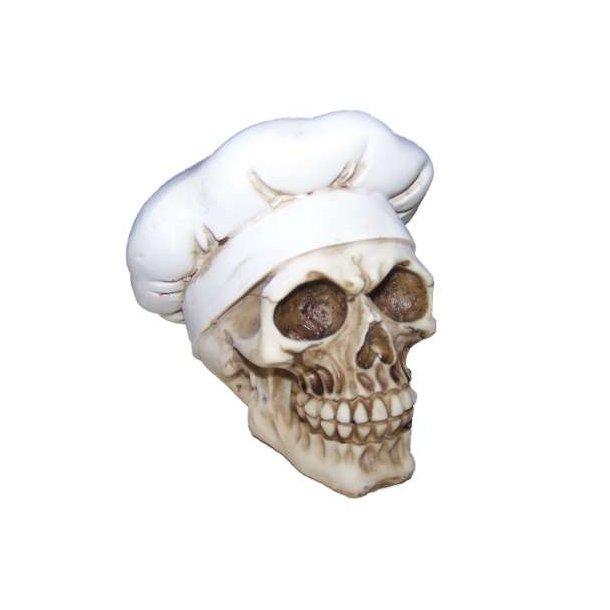 Kranie med kokkehue