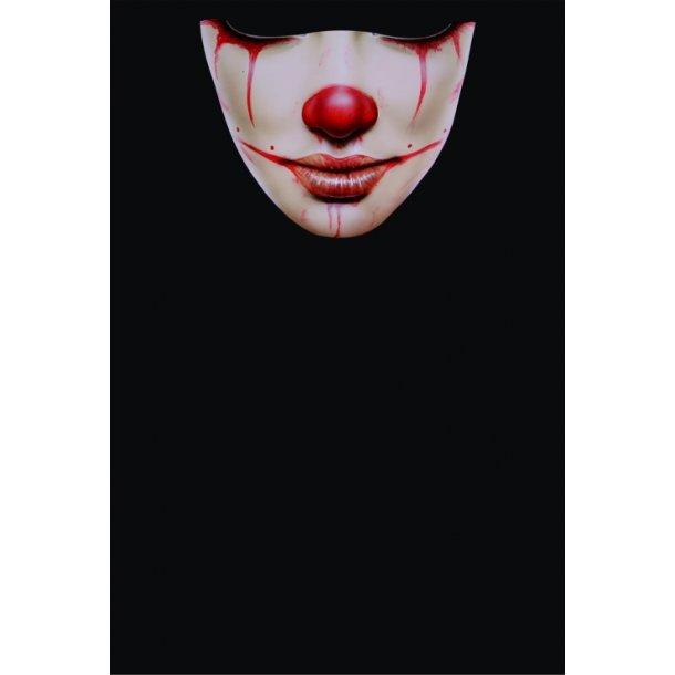 MC Ansigtsmaske med Silikonepad på Næsen - Face 26