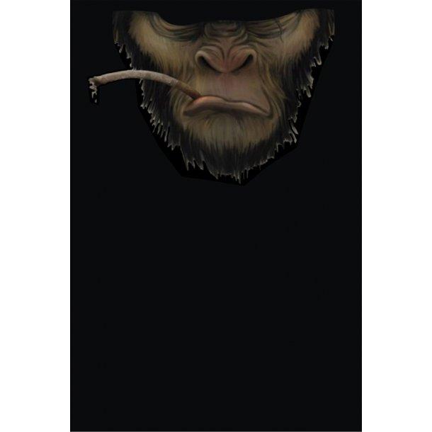MC Ansigtsmaske med Silikonepad på Næsen - Monkey 4