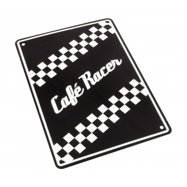 MC Parkerings Skilt - Cafè Racer