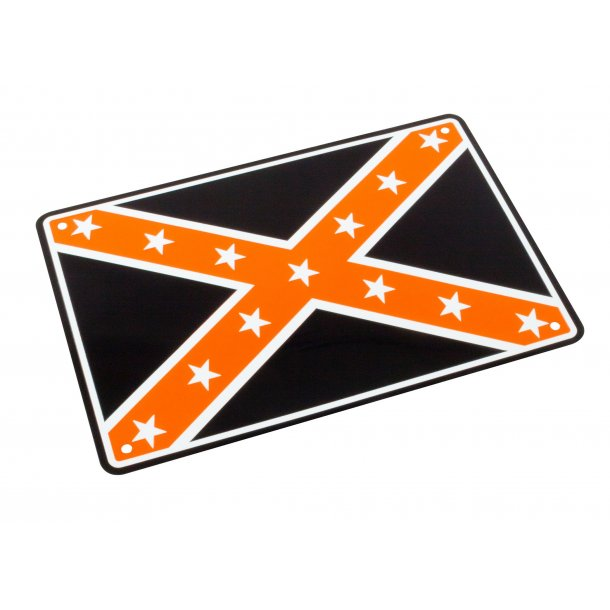 MC Parkerings Skilt - Confederate Flag