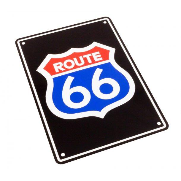 MC Parkerings Skilt - Route 66