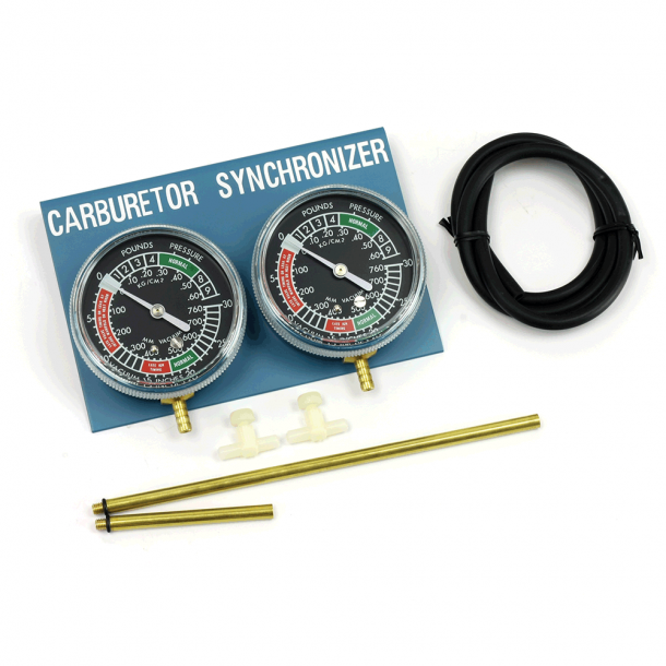 MC Karburator Synkronisering til 2cylindre