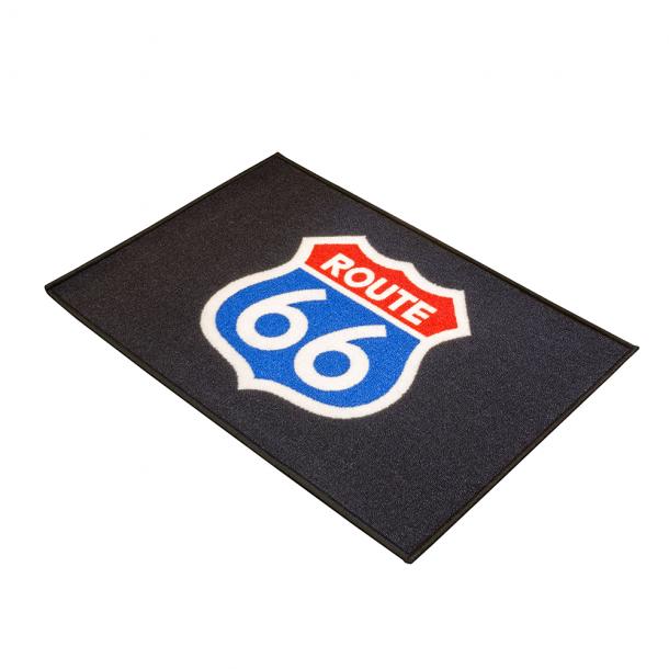 Route 66 MC Dørmåtte 90 x 60