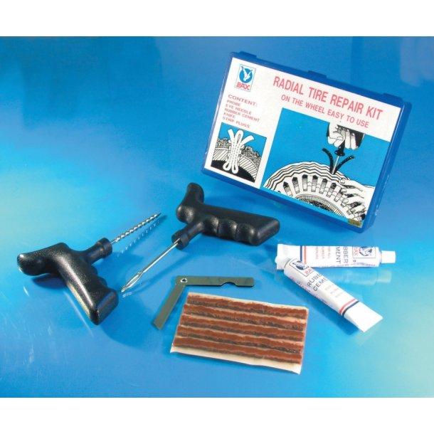 Slangeløs reperations kit