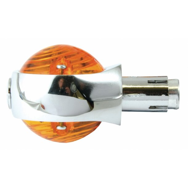 Bullseye MC Blinklys til 22 mm styr