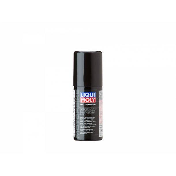 Liqui Moly MC Kædespray hvid - til X/O rings kæder - 50 ml