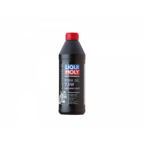 Liqui Moly MC forgaffel olie 7,5W light/medium  1 L