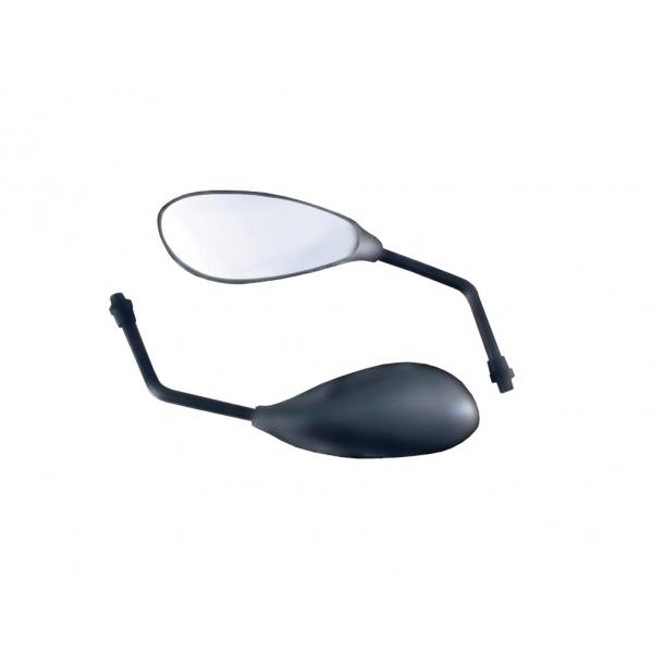 F3 Universal MC spejl - Sort eller Carbon look